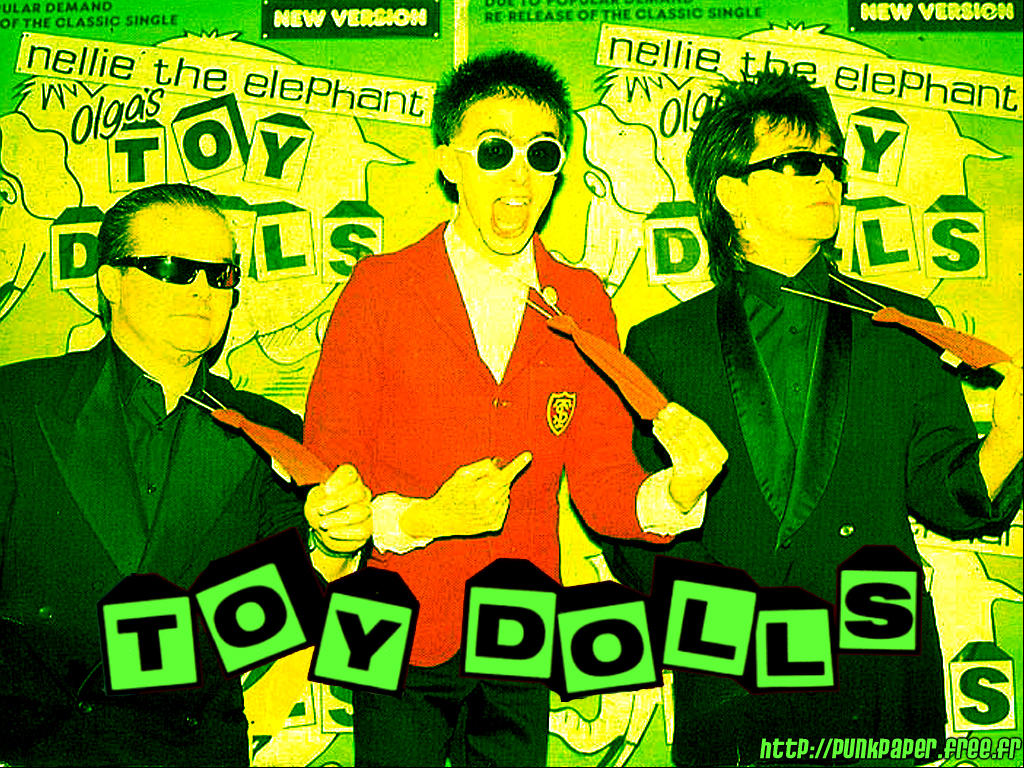 Music Wallpaper: Toy Dolls