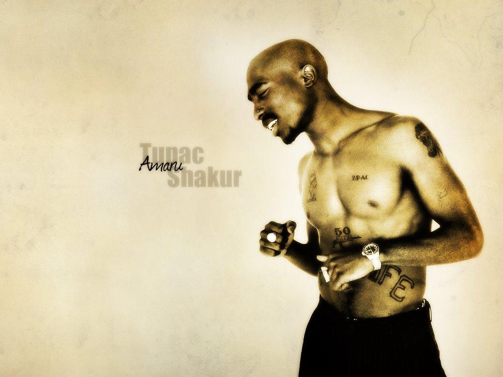 Music Wallpaper: Tupac Shakur