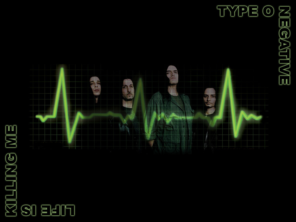 Music Wallpaper: Type O Negative - Life is Killing Me