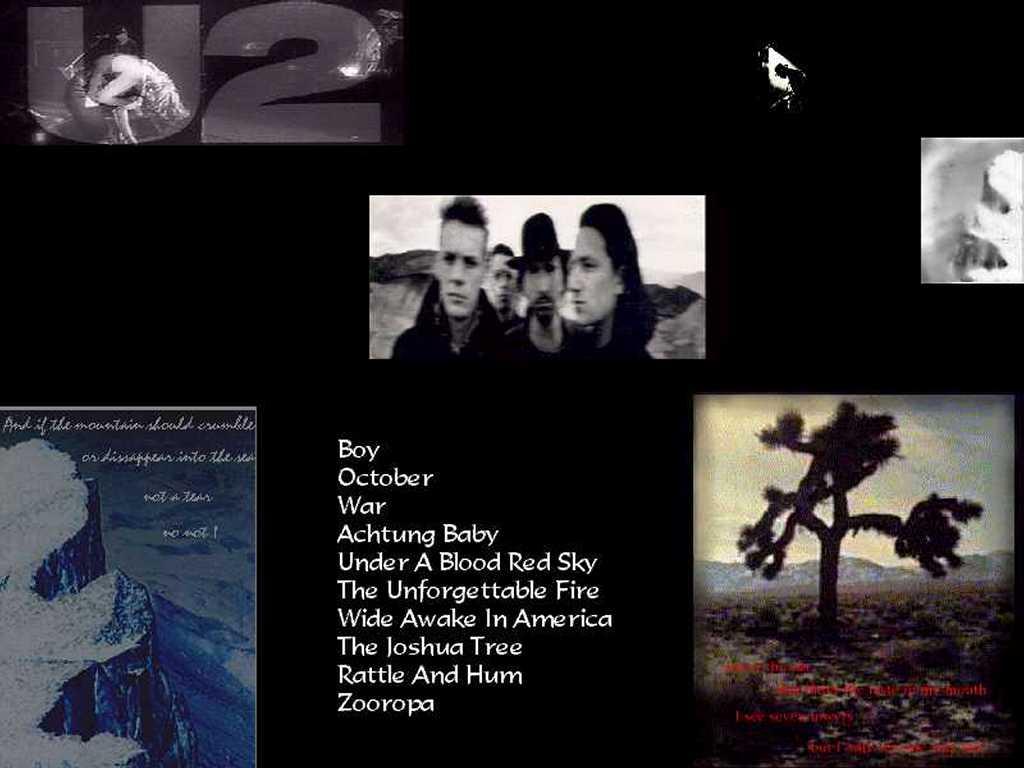 Music Wallpaper: U2 - America