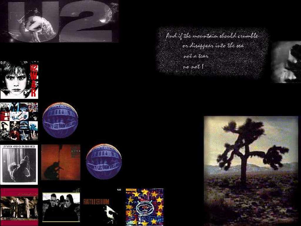 Music Wallpaper: U2 - Rattle and Hum