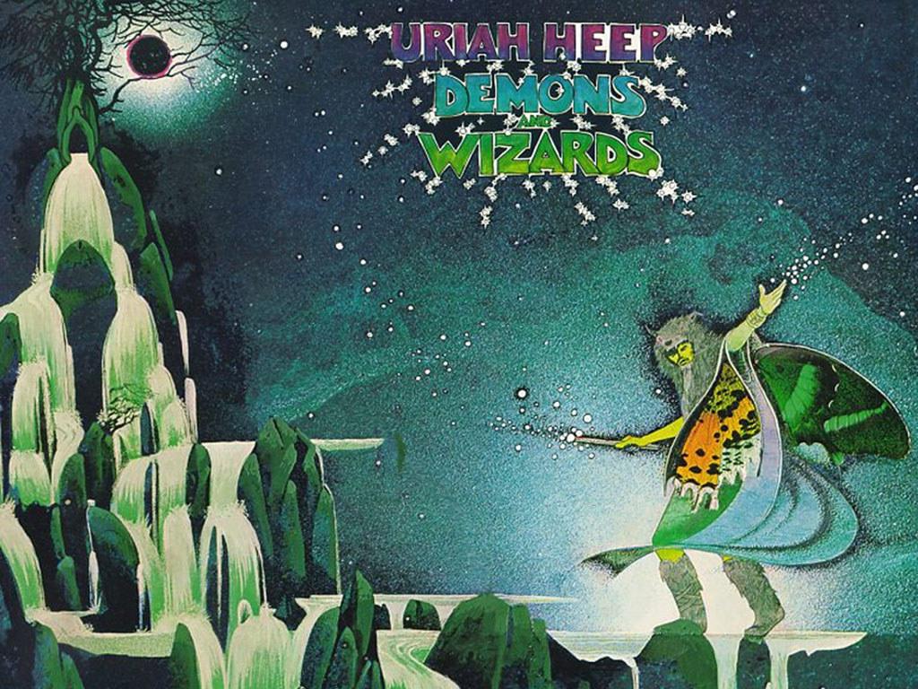 Music Wallpaper: Uriah Heep - Demons and Wizards