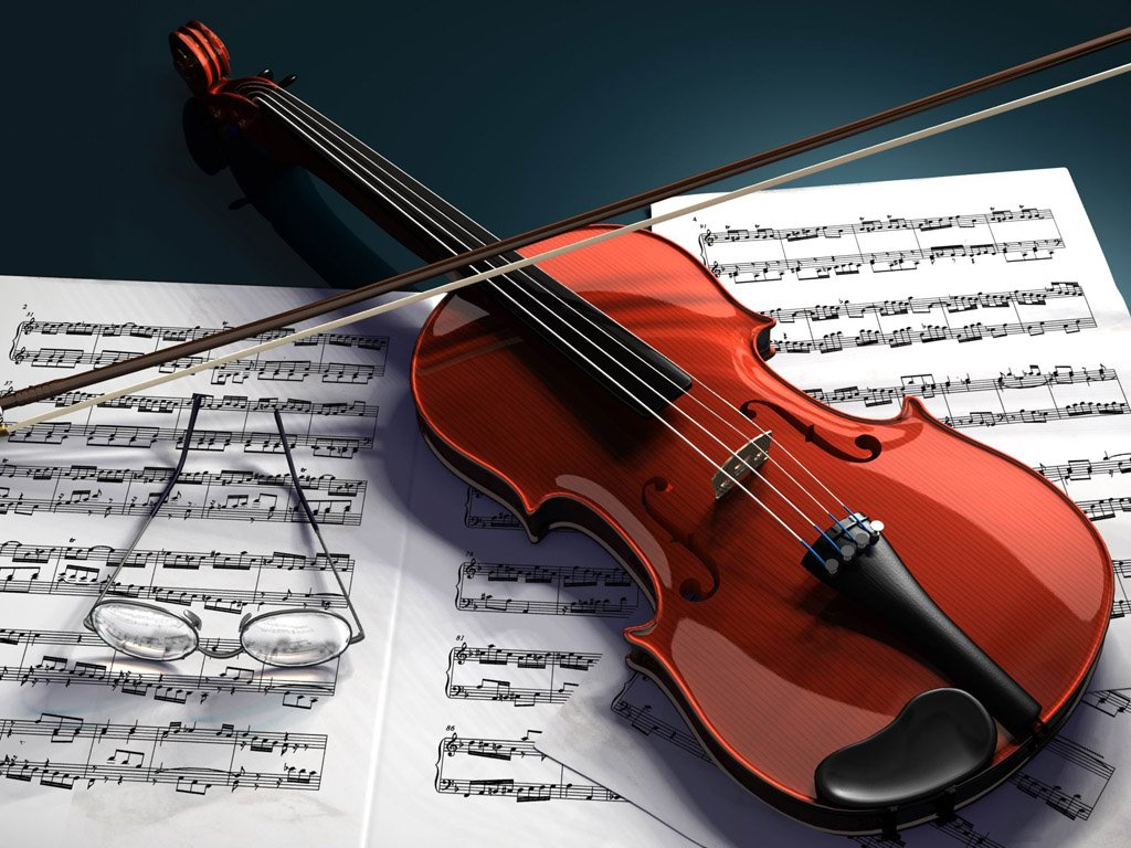 Music Wallpaper: Violin