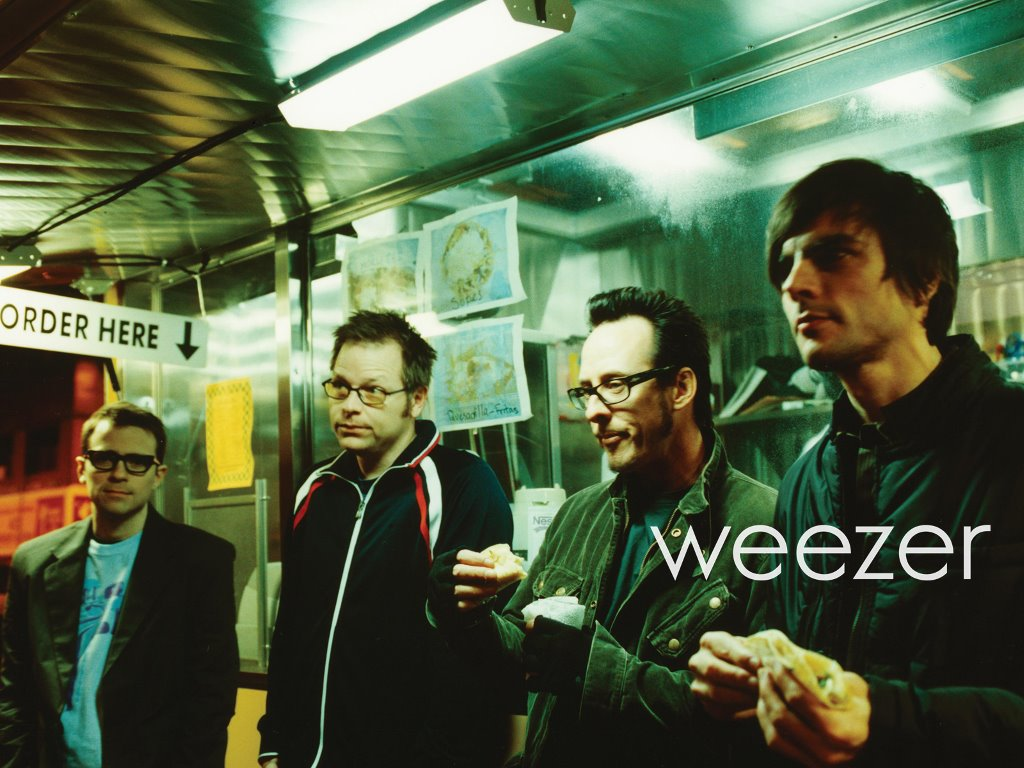 Music Wallpaper: Weezer