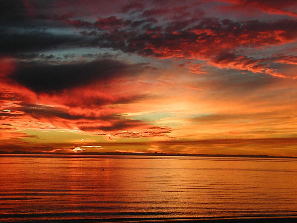 Nature Wallpaper: Australian Sunset