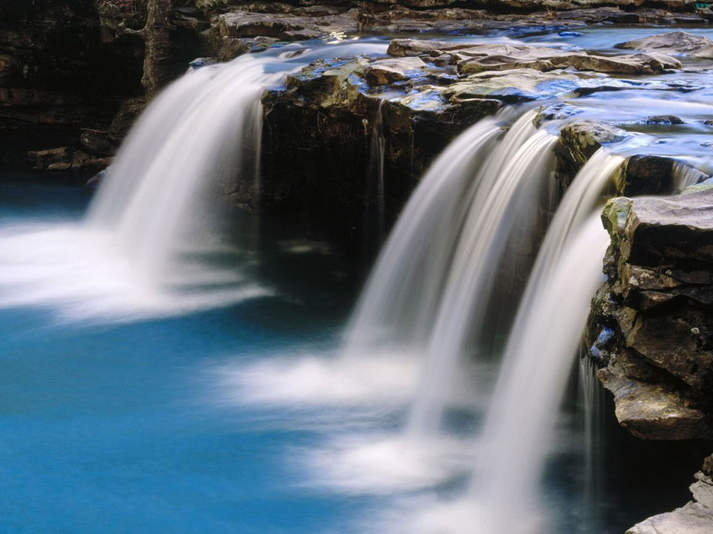 Nature Wallpaper: Beautiful Falls