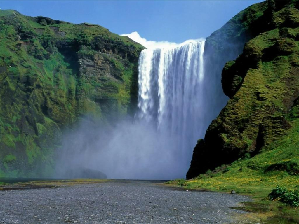 Nature Wallpaper: Big Falls