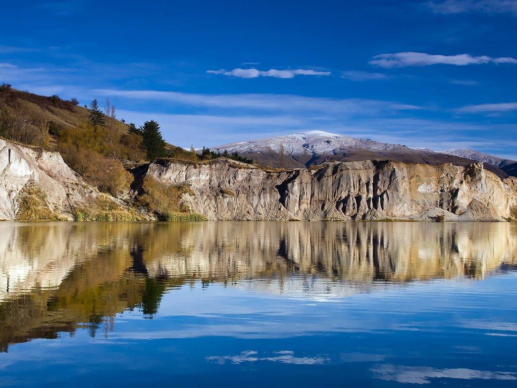Nature Wallpaper: Blue Lake