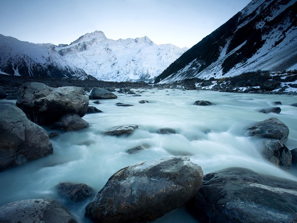 Nature Wallpaper: Cold River