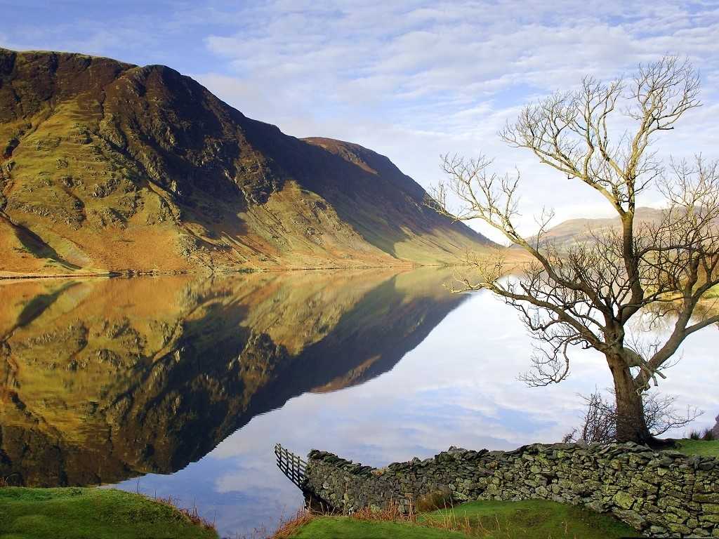 Nature Wallpaper: Crummock Water