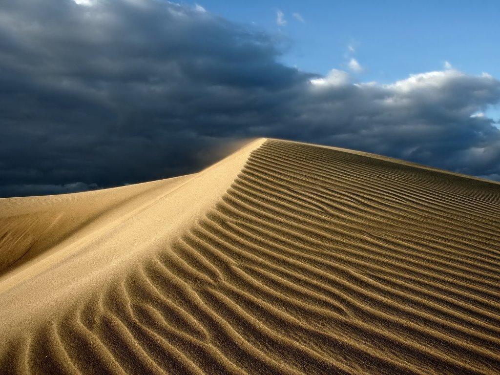 Nature Wallpaper: Desert Hill