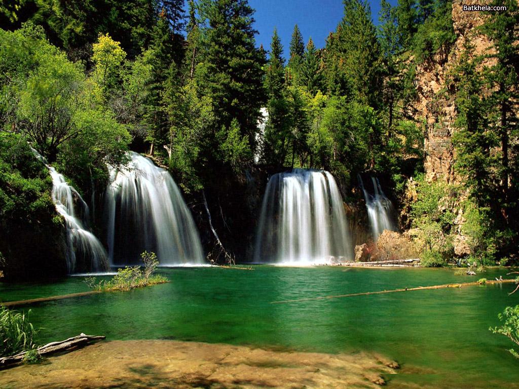 Nature Wallpaper: Falls