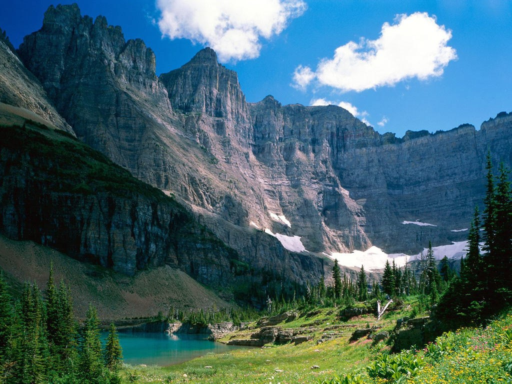 Nature Wallpaper: Glacier National Park - Montana