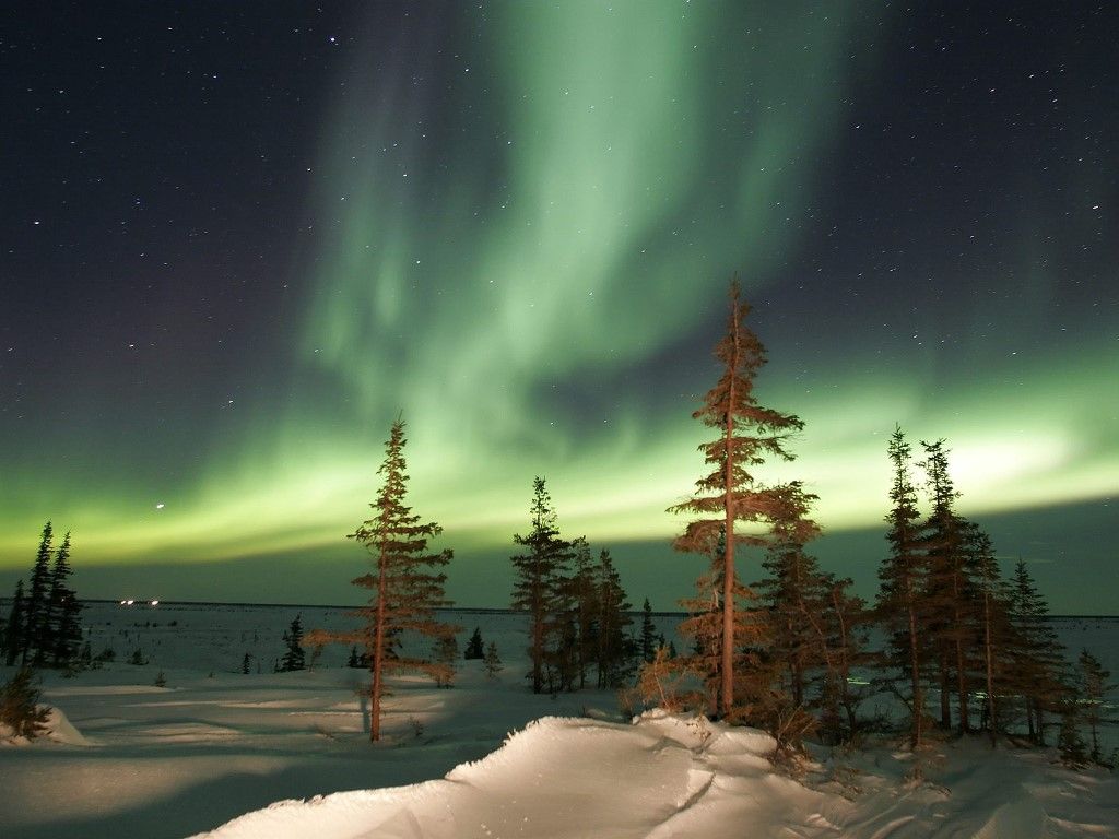 Nature Wallpaper: Northern Lights