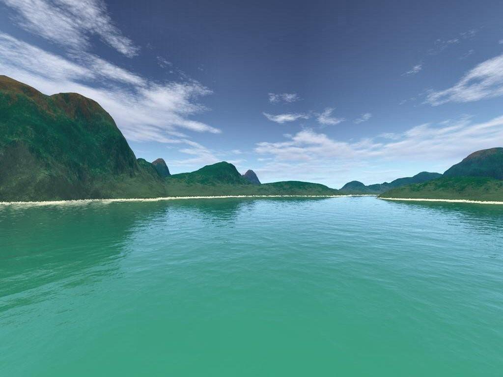Nature Wallpaper: Green Lake