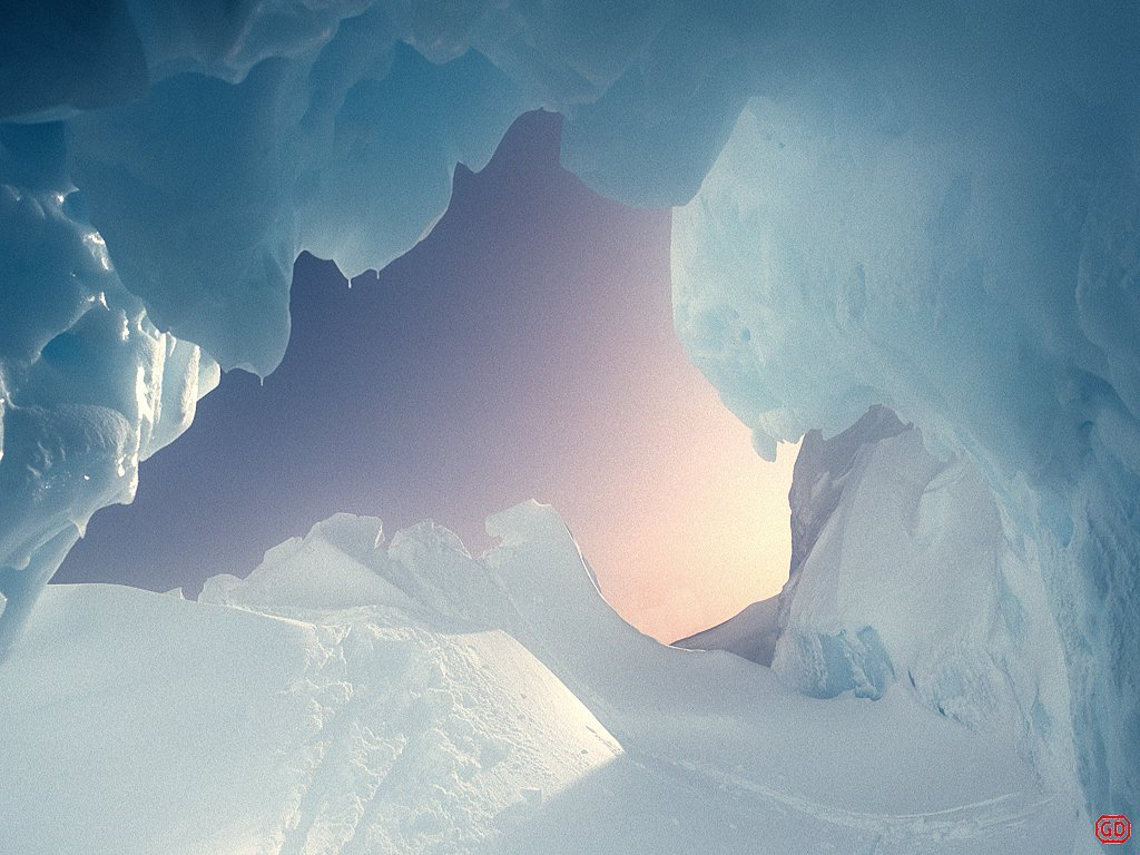 Nature Wallpaper: Ice Cave