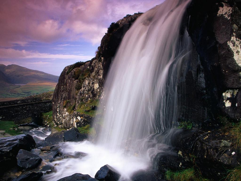 Nature Wallpaper: Ireland - Falls