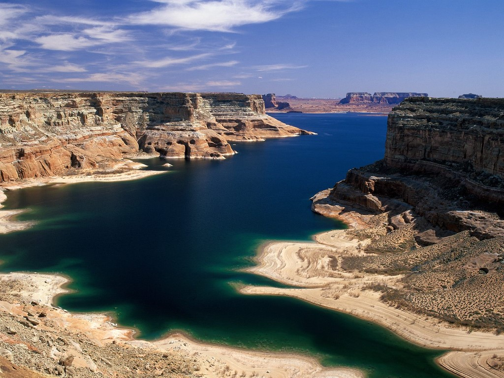 Nature Wallpaper: Lake Powell - Arizona