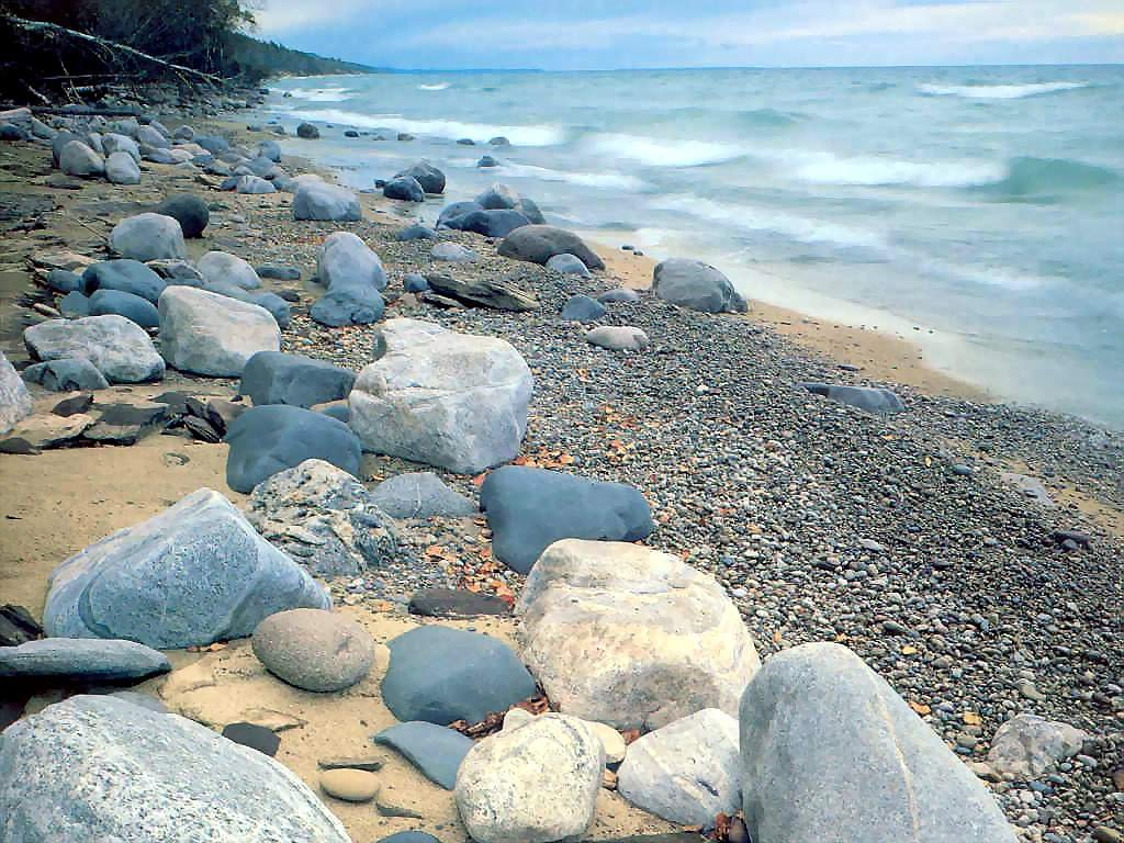 Nature Wallpaper: Lake Superior - Shore