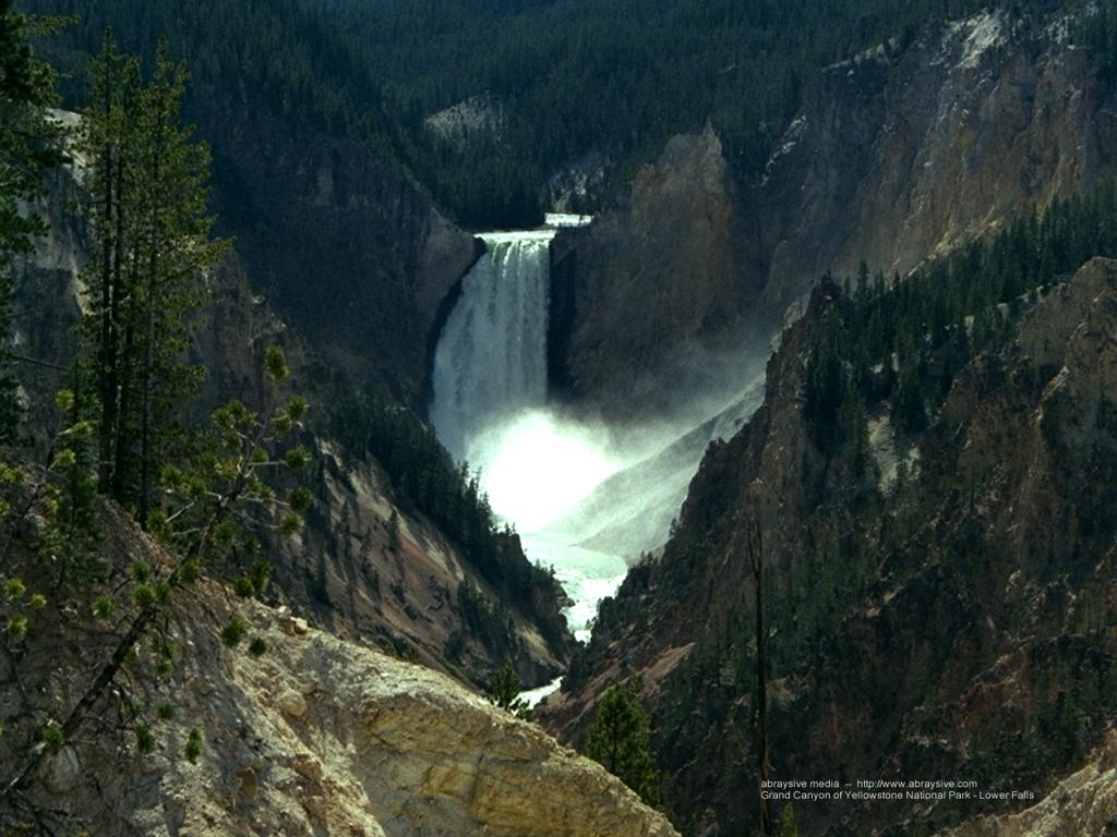 Nature Wallpaper: Lower Falls