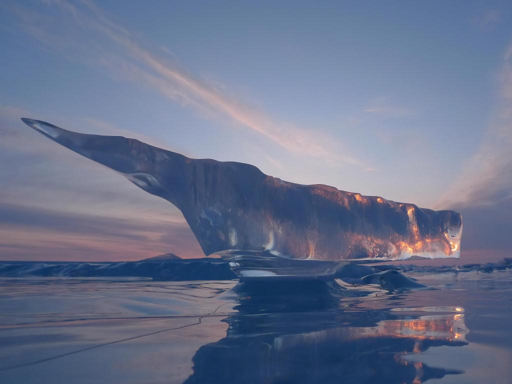 Nature Wallpaper: Melted Iceberg