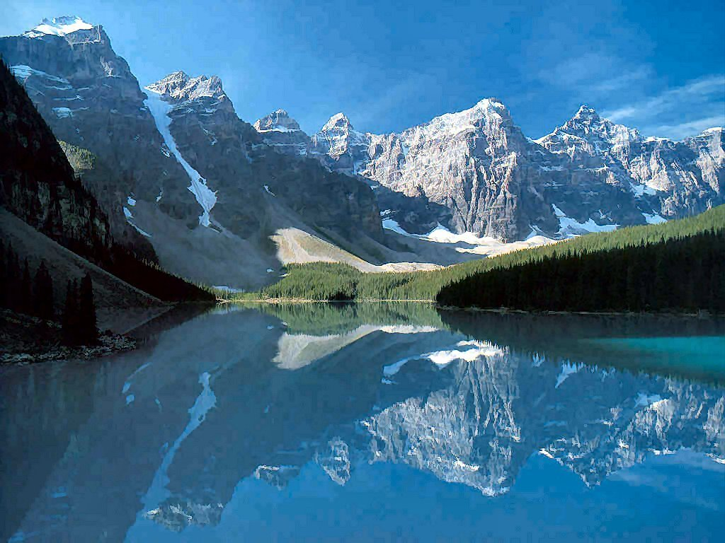 Nature Wallpaper: Moraine Lake