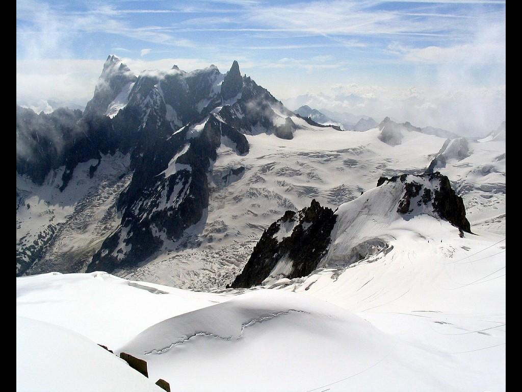 Nature Wallpaper: Mount Blanc