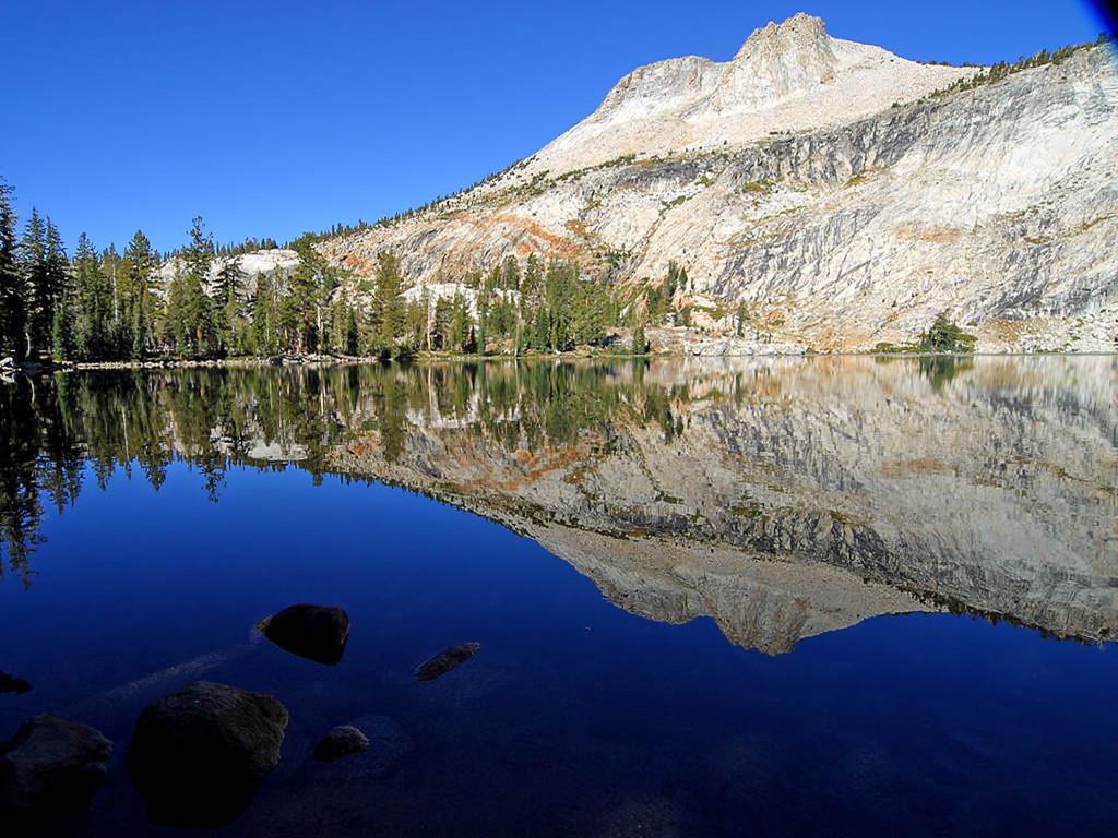 Nature Wallpaper: Mount Hoffmann Peak - Yosemite Park