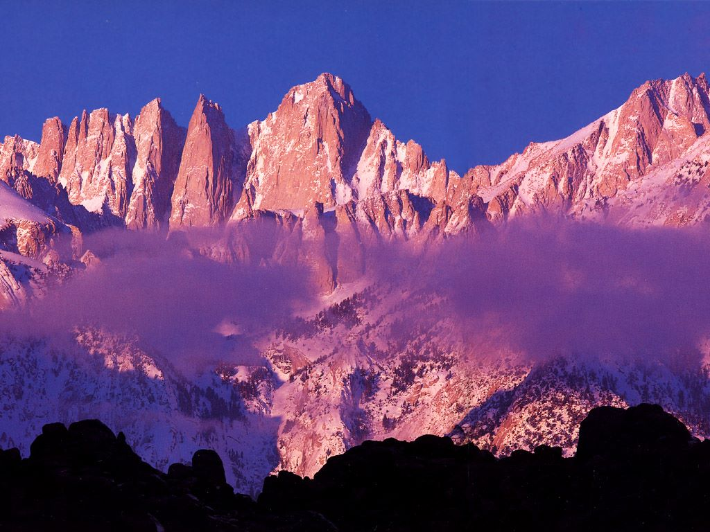 Nature Wallpaper: Mount Whitney