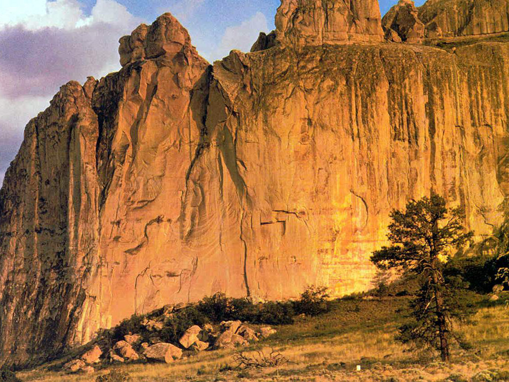 Nature Wallpaper: New Mexico - El Morro