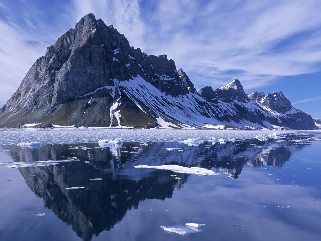 Nature Wallpaper: Norway Mountains