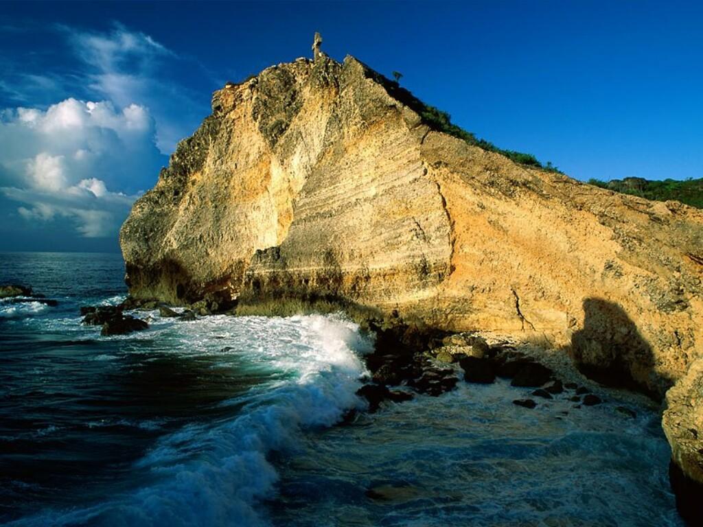 Nature Wallpaper: Pointe des Chateaux - Guadeloupe