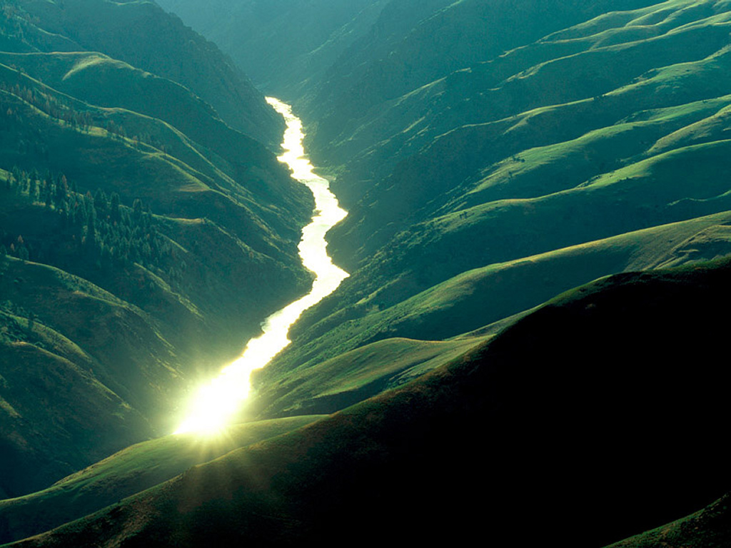 Nature Wallpaper: Reflex River