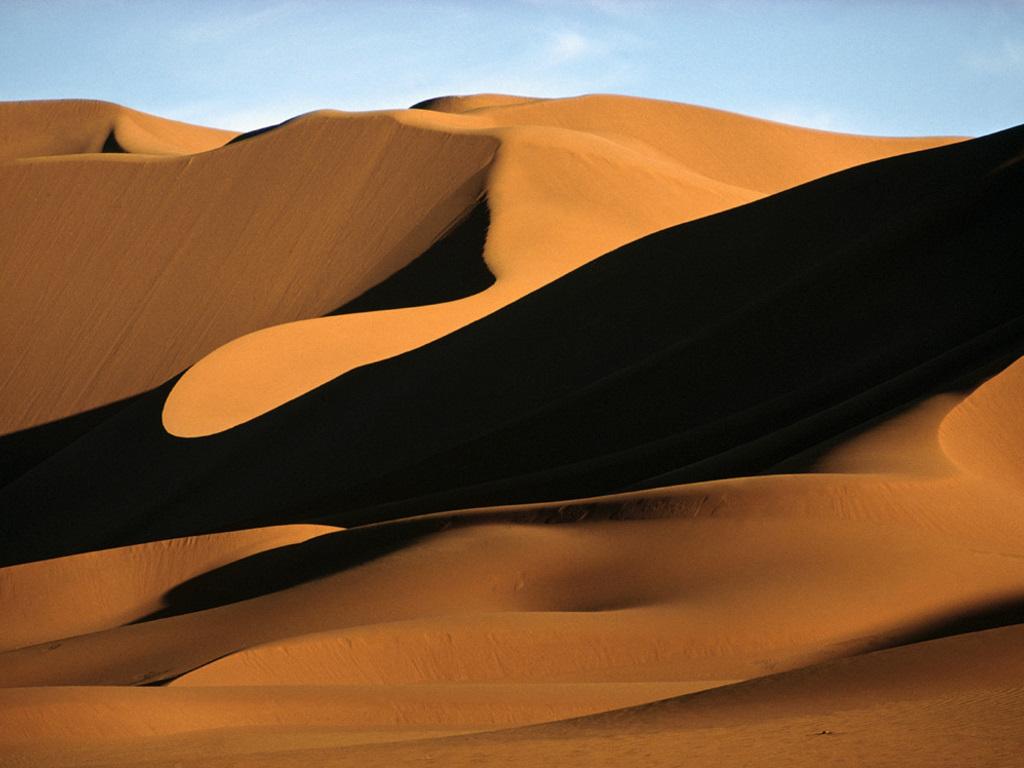 Nature Wallpaper: Sand Dunes