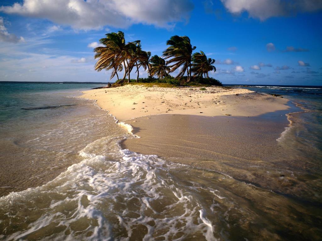 Nature Wallpaper: Sandy Island - Anguilla Caribbean