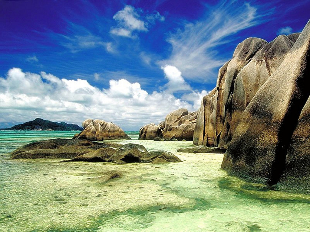 Nature Wallpaper: Seychelles Islands