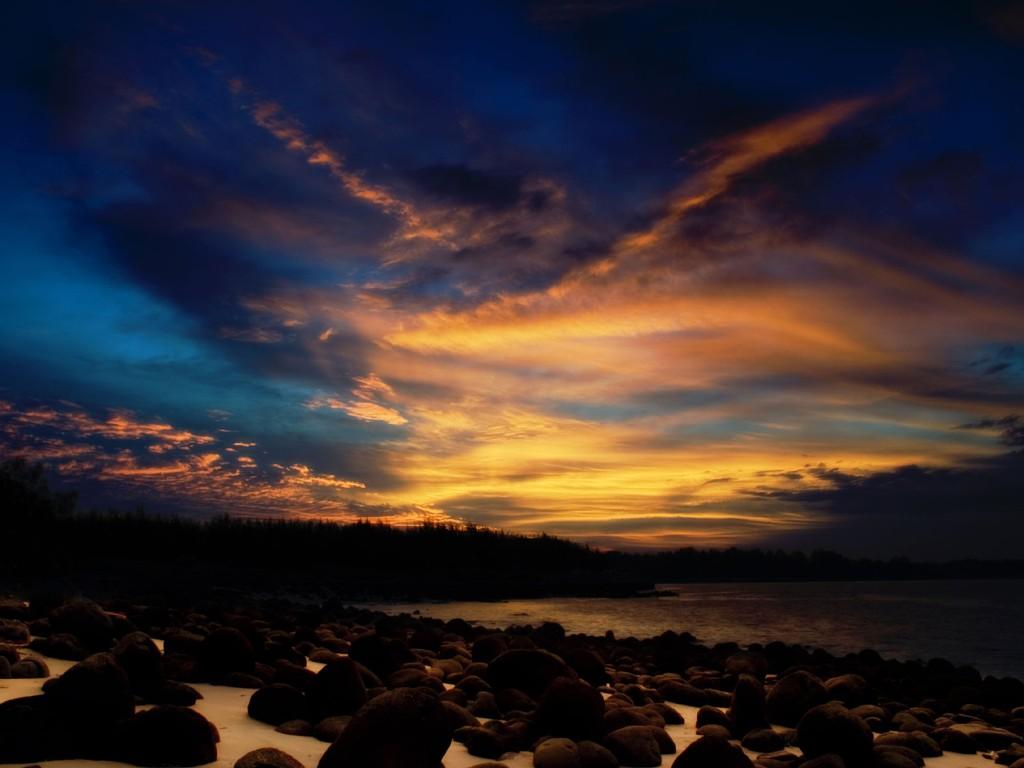 Nature Wallpaper: Singapore - Sunset