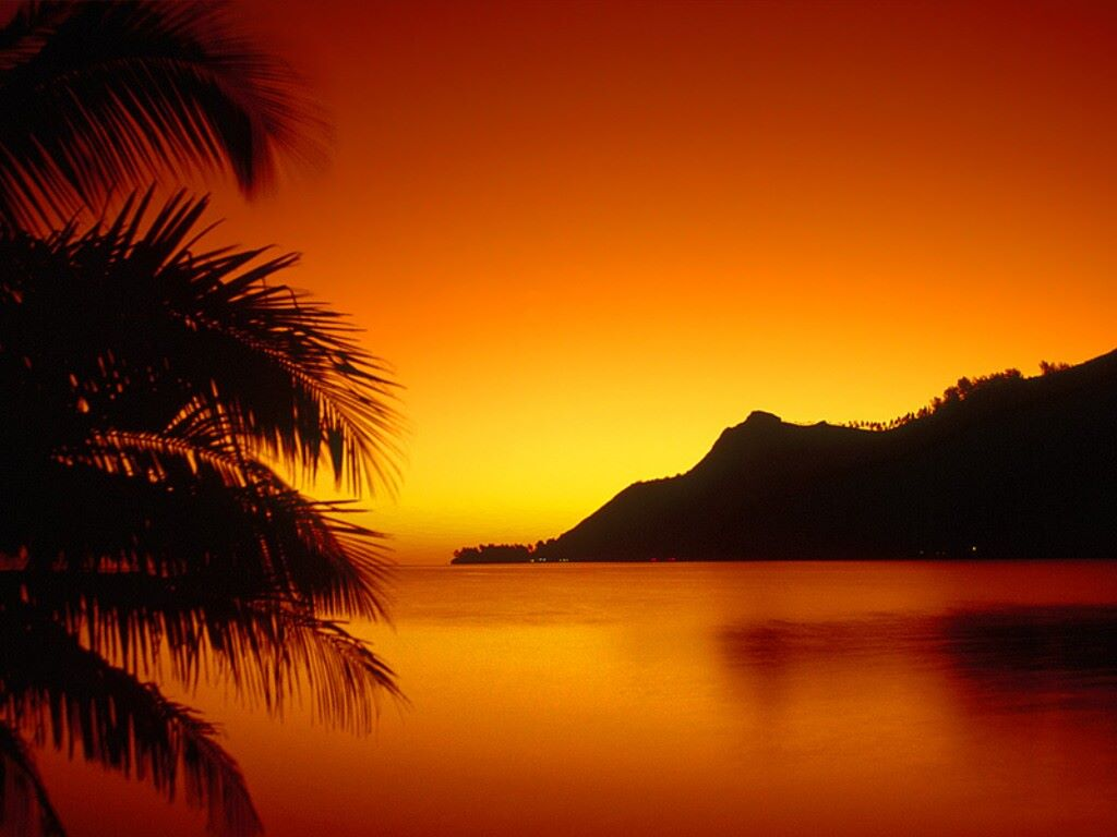 Nature Wallpaper: Hawaiian Sunset