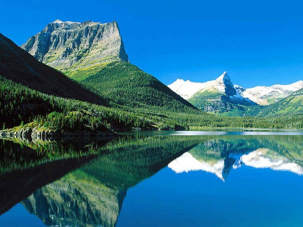 Nature Wallpaper: St. Mary Lake