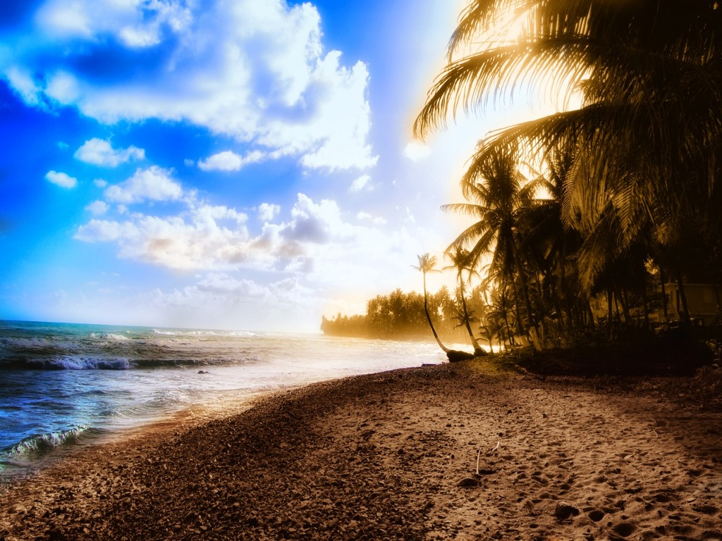 Nature Wallpaper: Sunbay - Puerto Rico