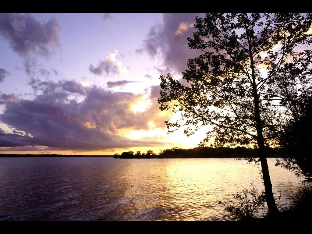Nature Wallpaper: Sunset - Llano County, Texas
