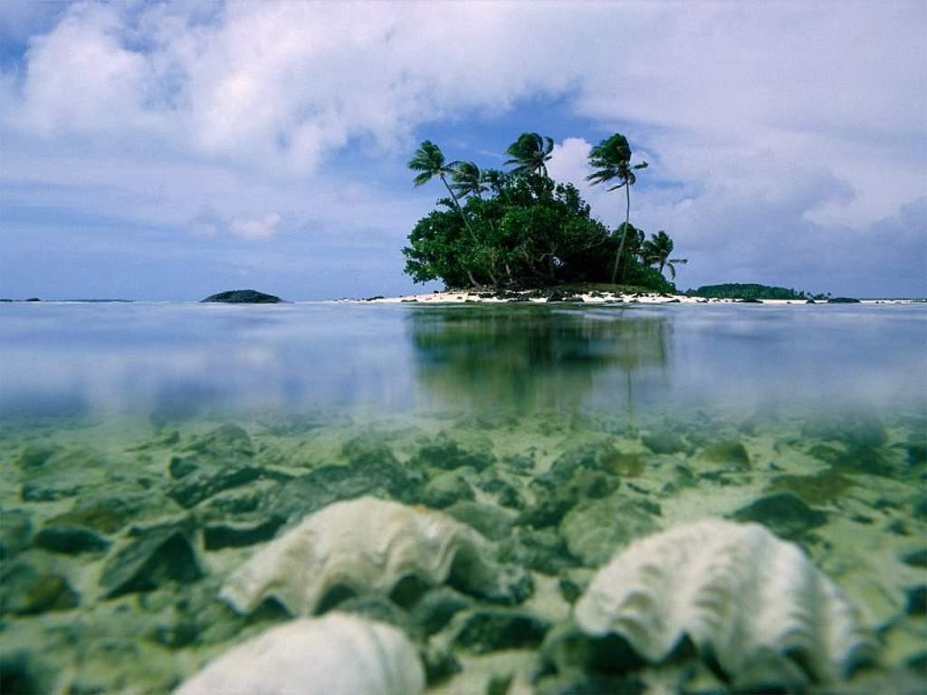Nature Wallpaper: The Lone Island