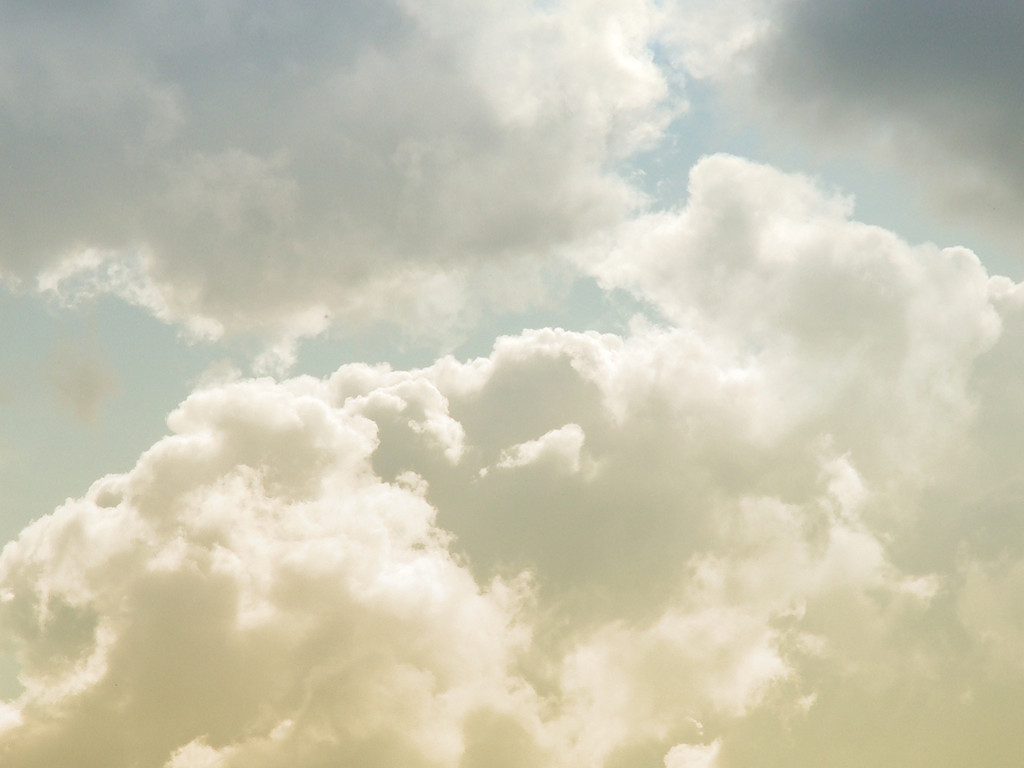 Nature Wallpaper: White Clouds