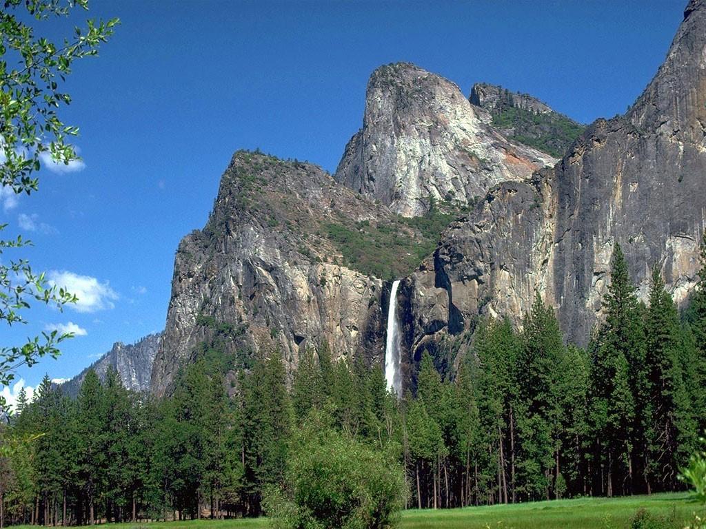 Nature Wallpaper: Yosemite - Waterfall