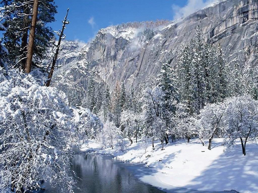 Nature Wallpaper: Yosemite - Winter