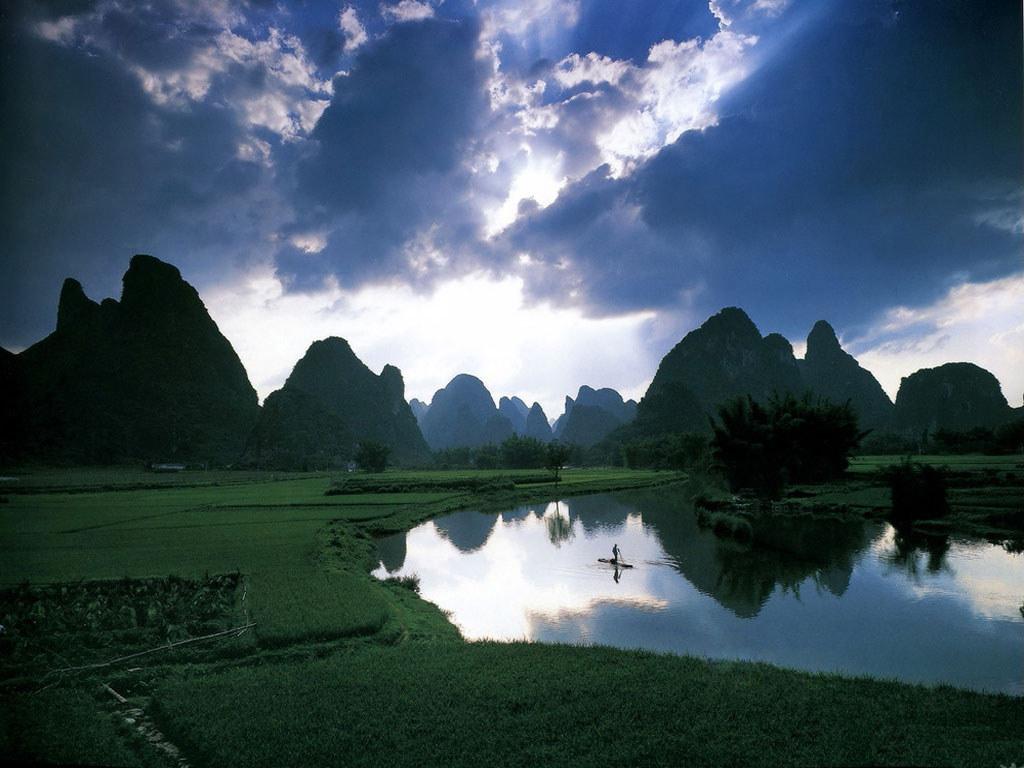 Nature Wallpaper: Zhang Li Ping