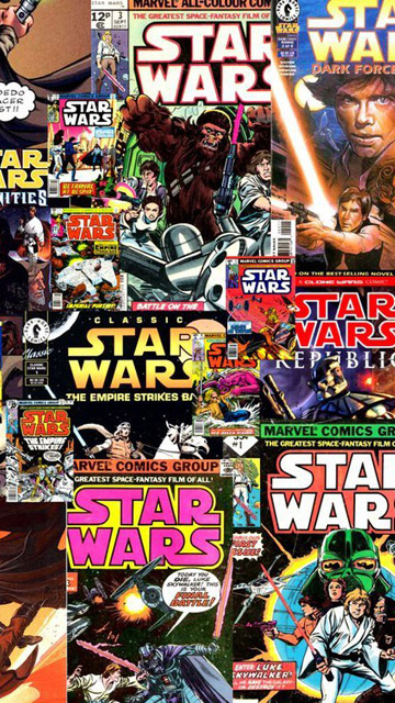 My Free Wallpapers Star Wars Wallpaper Classic Star Wars Comic Covers