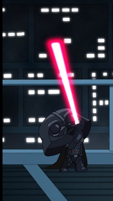 My Free Wallpapers Star Wars Wallpaper Family Guy Lightsaber Duel