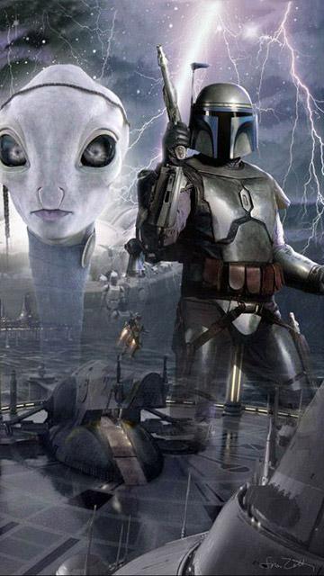 My Free Wallpapers Star Wars Wallpaper Jango Fett