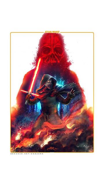 My Free Wallpapers Star Wars Wallpaper Kylo Ren Fan Art